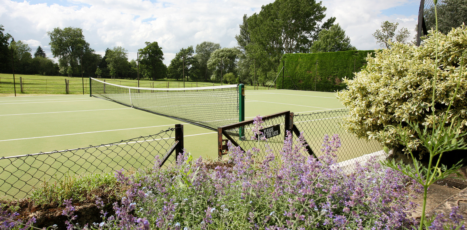 Talton House tennis court