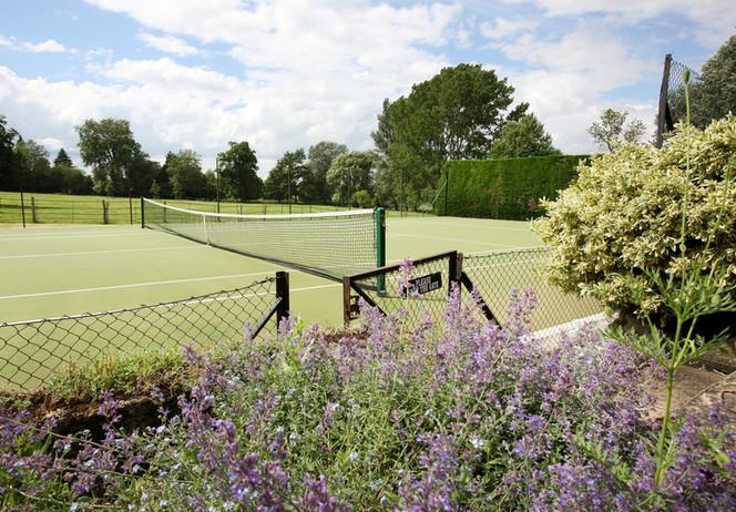 Talton House tennis court