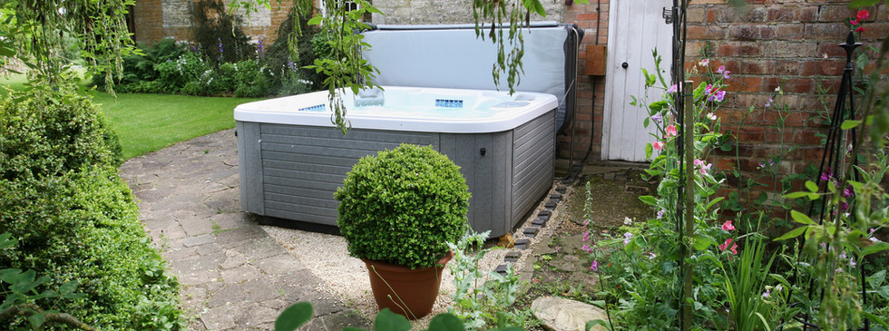 Talton House hot tub