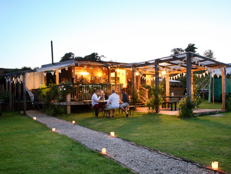 Talton Lodge opens with a feast night in the walled garden