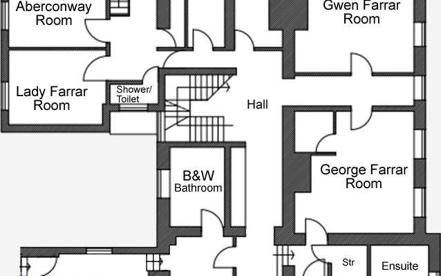 Talton House first floor plan