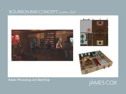 Bourbon Bar Concept.