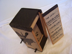 The Legend of Dunkelwolf.jpg Scroll book, above view