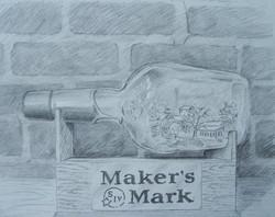 Distillery in a Bottle.jpg Charcoal, graphite, and acrylic on paper.jpg 16 in.jpg x 20 in.jpg $120.j