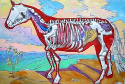 Beyond the Horse.jpg 23 in.jpg x 34 in.jpg Oil on panel.jpg $600