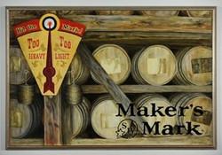 Hit the Mark!  24 in.jpg x 36 in.jpg  Oil on Gessoboard.jpg  2008.jpg  $1,000.jpg  Purchased by Make
