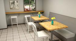 Corporate interior design: Cafe
