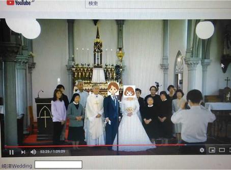 ふたりだけの結婚式、そして・・・
