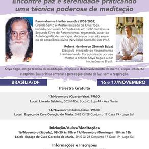 Palestra - Kriya Yoga com Robert Henderson (GONESH BABA) - 13 de Novembro, 19h