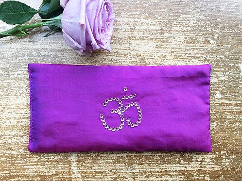 Violet Ohm Aromatherapy Eye Pillow