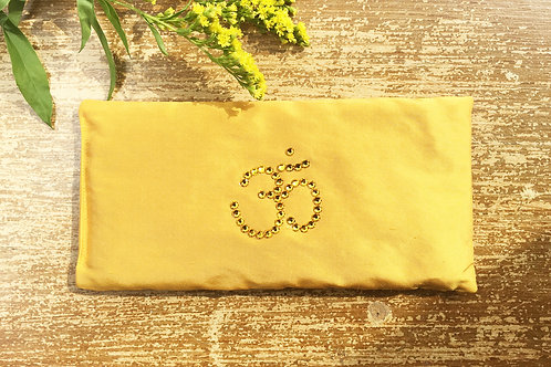 Yellow Ohm Aromatherapy Eye Pillow