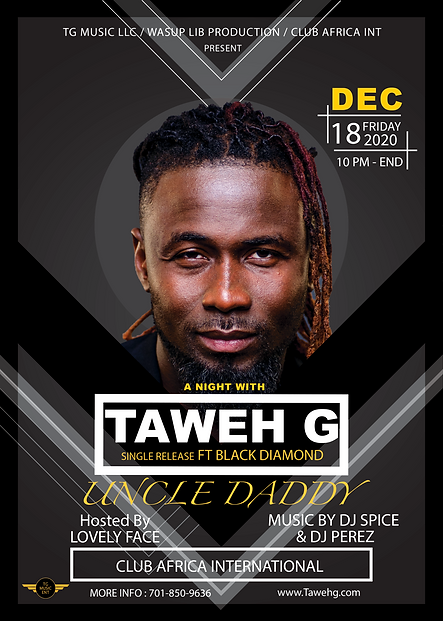 Taweh G live