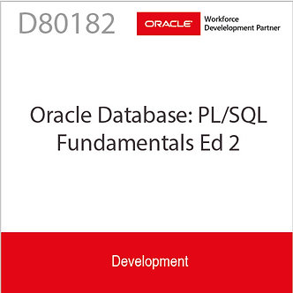 D80182   Oracle Database: PL/SQL Fundamentals Ed 2