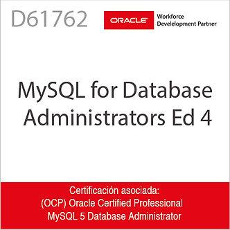 D61762 | MySQL for Database Administrators Ed4