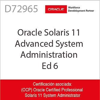 D72965 | Oracle Solaris 11 Advanced System Administration