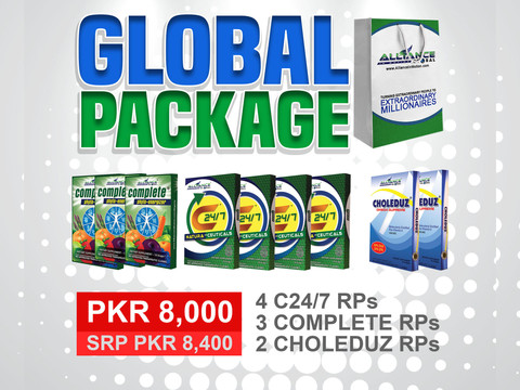 Global Package (Limited Stocks)