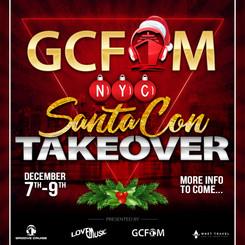 GCFam NYC SantaCon Takeover