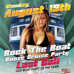 Rock The Boat Booze Cruise Party - Last Call