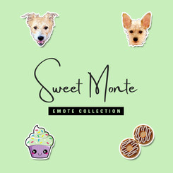 Sweet Monte Emotes Collection