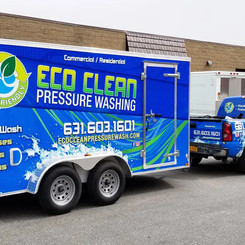 Eco Clean Pressure Washing