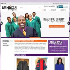 American Choir Gown