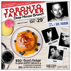 GCFam Toronto Takeover Deep House Brunch