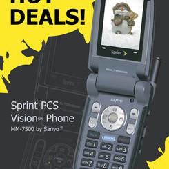 "Sprint ""Winter Specials"" Advertisement"