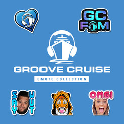 Groove Cruise Emotes Collection
