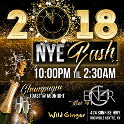 Wild Ginger New Year's Eve Bash 2018