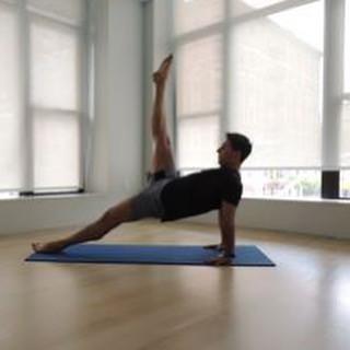 Leg pull front #pilatesbody #pilatesmat