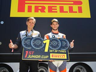 MAX KOEBOLT WINS THE PIRELLI JUNIOR CUP IN AUSTRIA