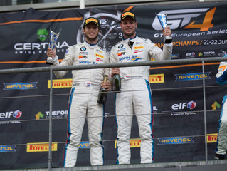 In spite of extra weight still another podium finish for Max Koebolt and Simon Knap
