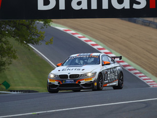 EKRIS MOTORSPORT CONTINUES ITS SUCCESS WITH A PAIR OF SECOND PLACES FOR THE EKRIS M4 GT4 AT BRANDS H