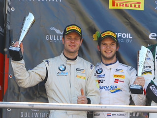 A pair of second places for Max Koebolt and Simon Knap at Brands Hatch