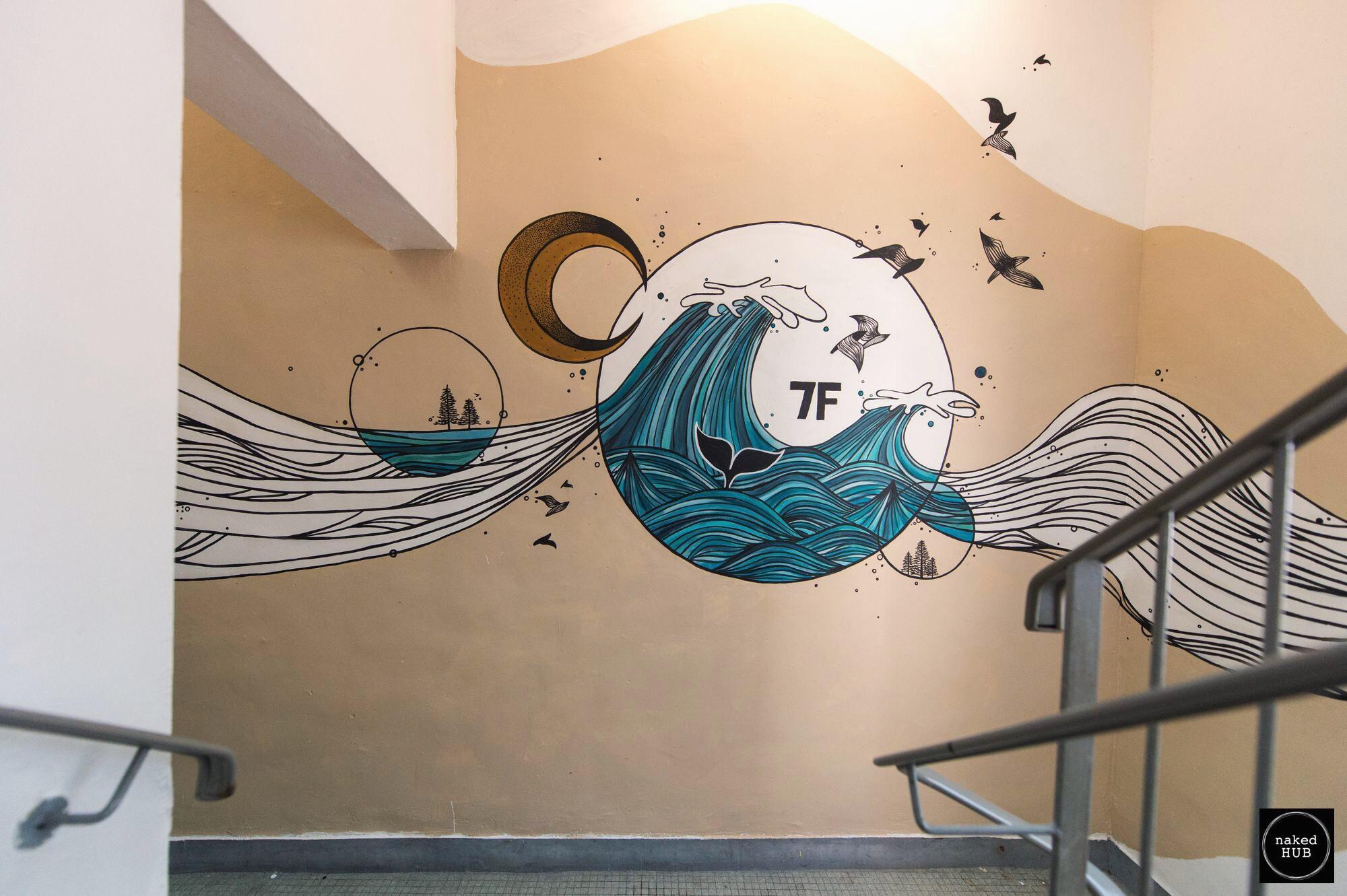 nHub Mural 4