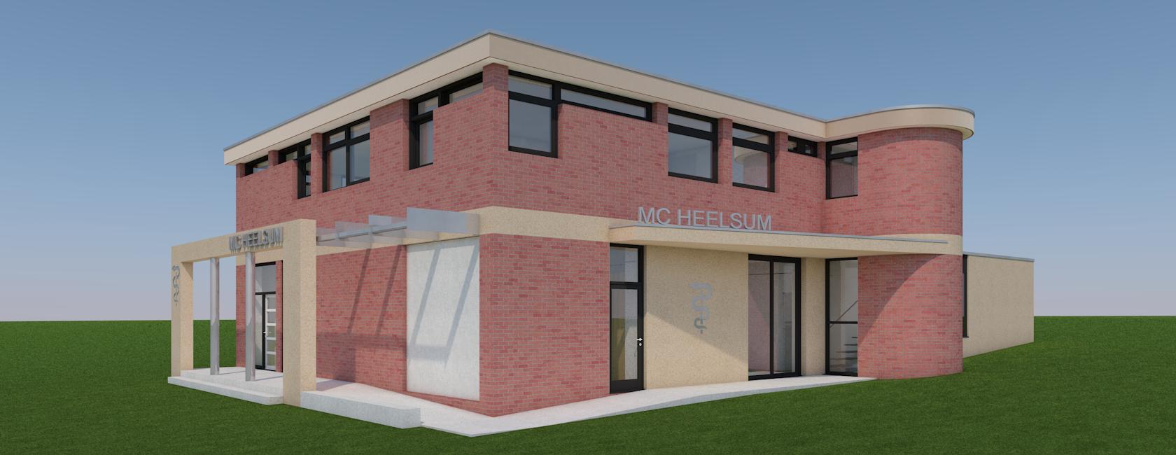 renovatie + uitbreiding MC Heelsum