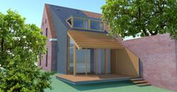 uitbreiding woonhuis Oosterbeek
