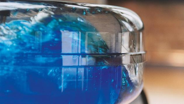 NOHrD Waterrower - Close Up