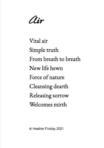 Air poem