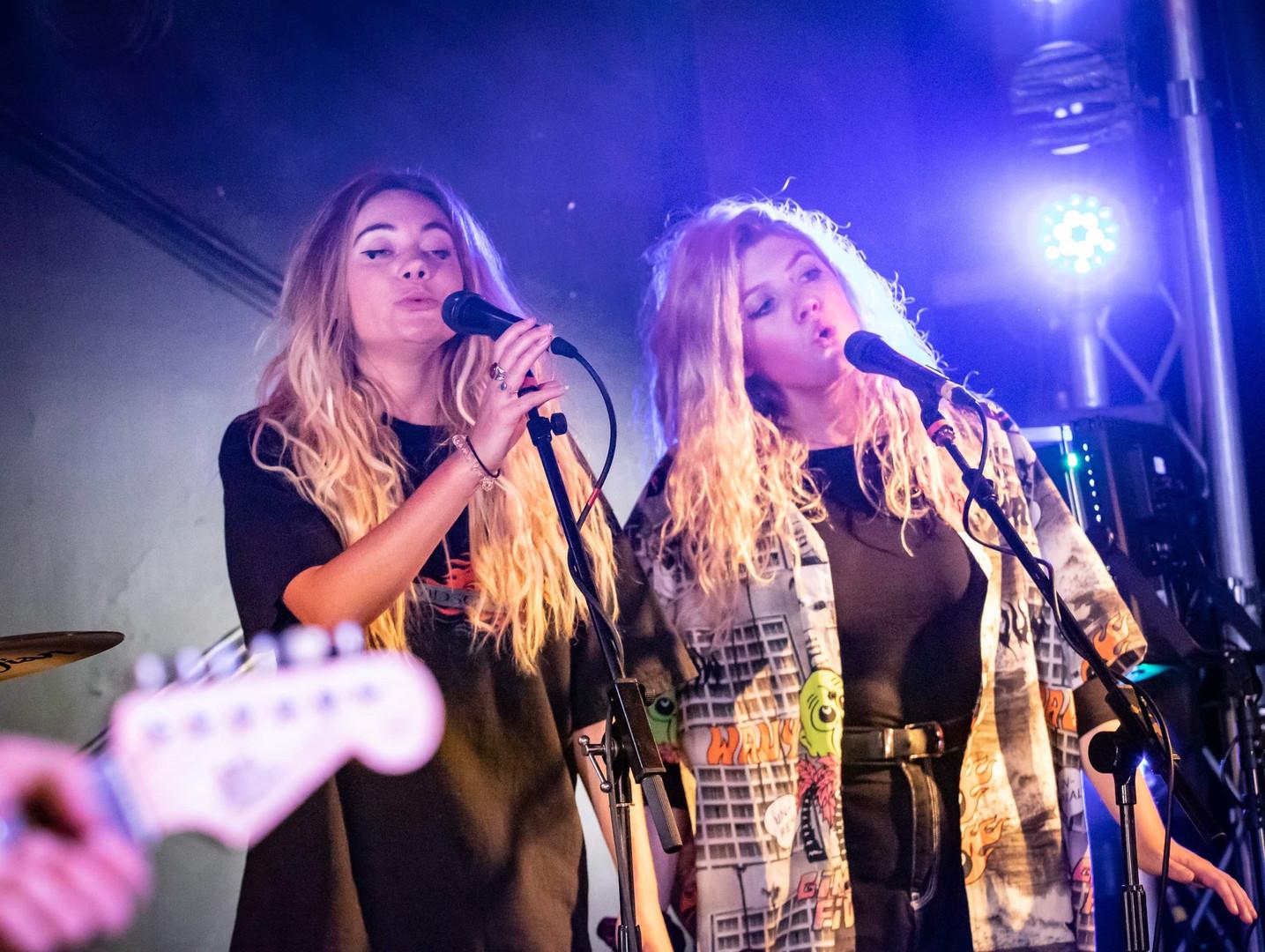 Georgia Rankin & Annie Donaghy ~ vocals