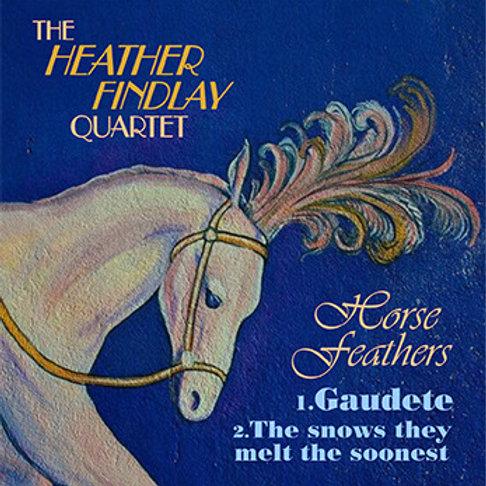 Signed Heather Findlay Quartet - Horse Feathers CD Single