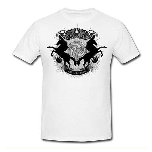 WWH 'Crest' T-Shirt - White