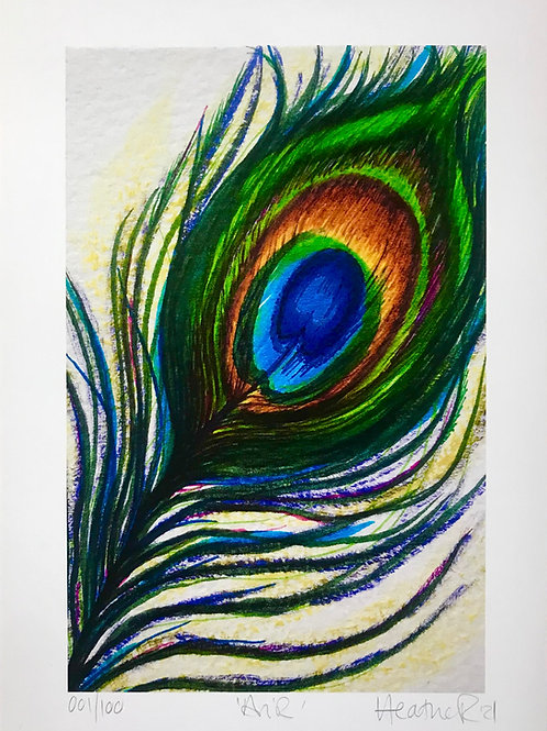 'Air' Ltd Ed Artwork Print ~ 'Elements' Collection