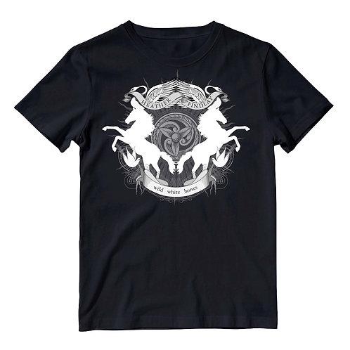 WWH 'Crest' - T Shirt - Black