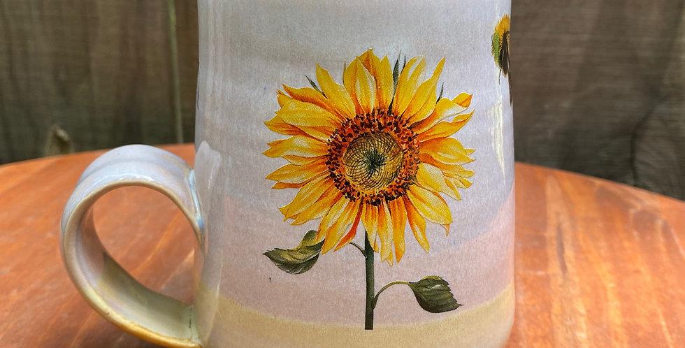 Sunflower and Bee Mug 014