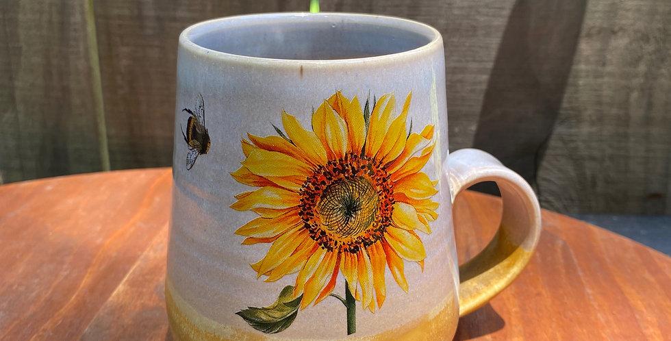 Sunflower and Bee Mug 013