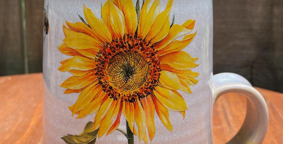 Sunflower and Bee Mug 030