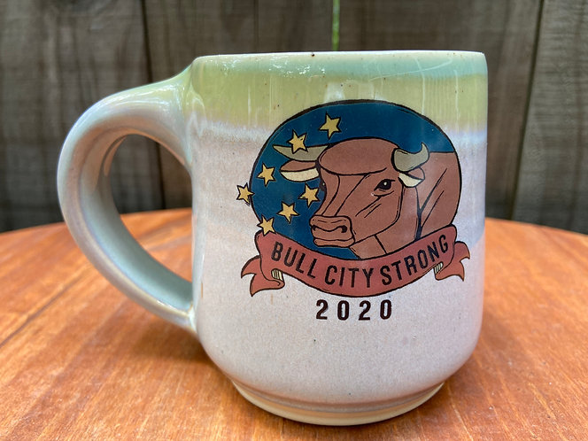 Bull City Strong Mug 016