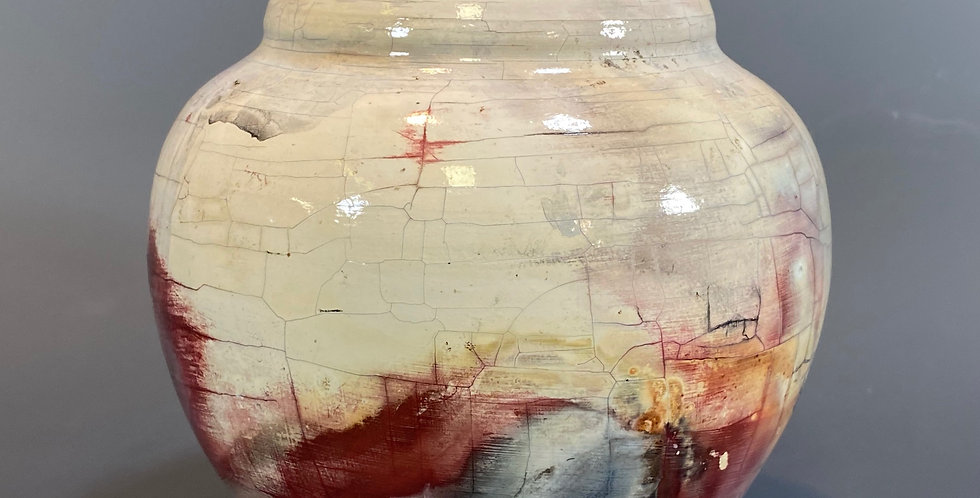 Pit Fired Vase 03