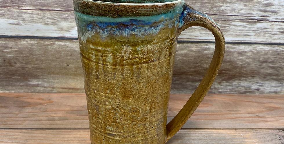 Gold Tall Mug 01